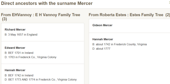 common surname compare