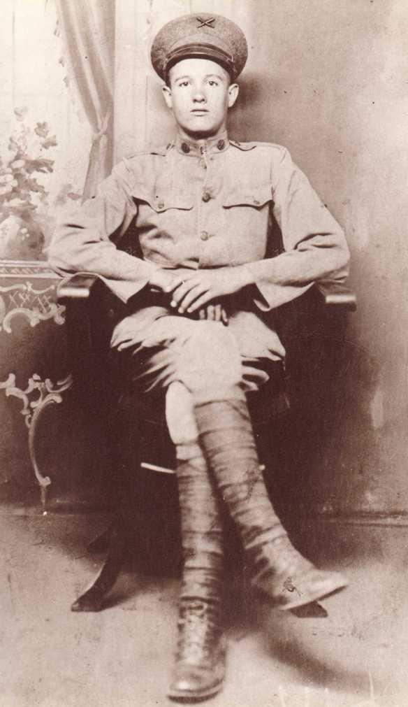 Joseph Dode Estes in WWI