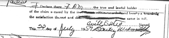 Will Estes signature