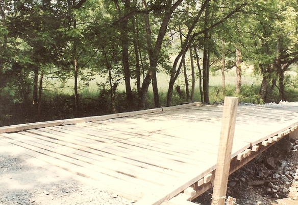 Bridge over Little Sycamore Creek