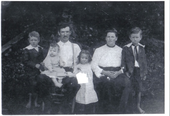Martha Estes and William Norris family