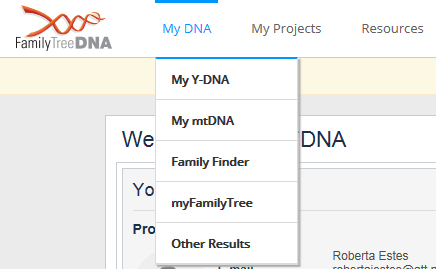 My dna tab