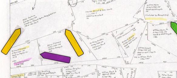 Estes plat map halifax