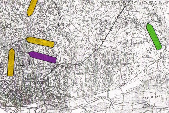 Estes topo map Halifax