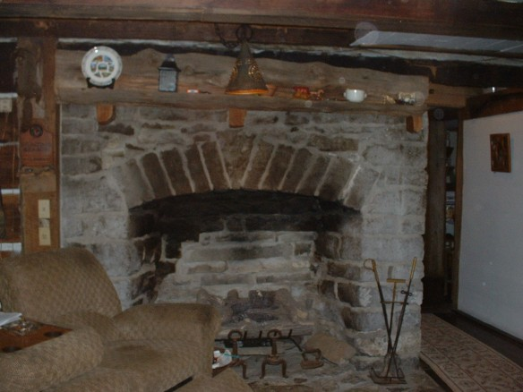 Walker fireplace