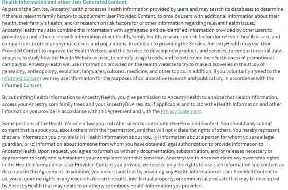 ancestry health 5