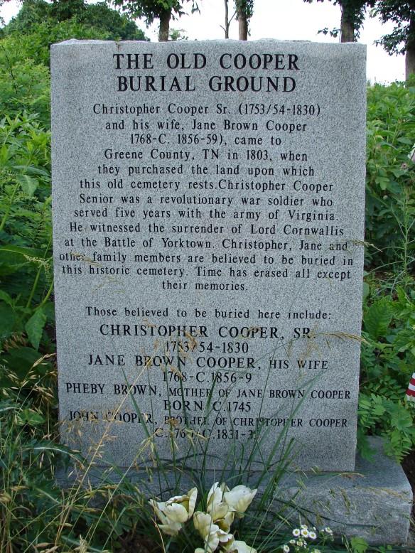 Cooper Cemetery 2