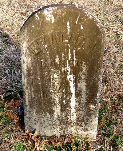 Permelia Vannoy stone