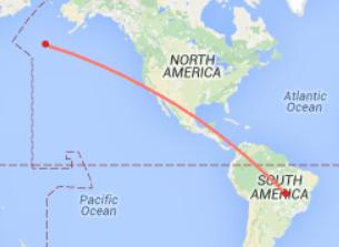Aleutians to Brazil