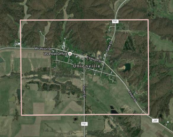 Unionville Iowa map