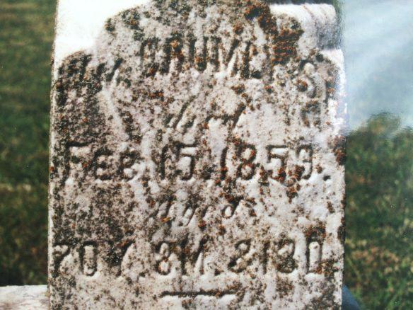 William Crumley stone