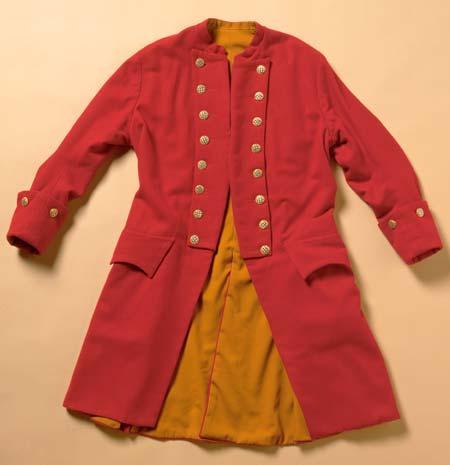 colonial coat