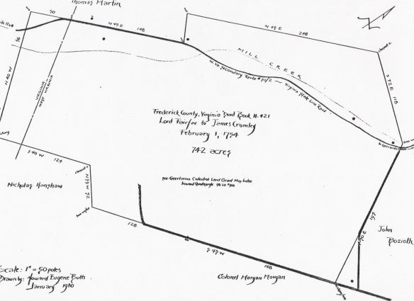 James Crumley land survey