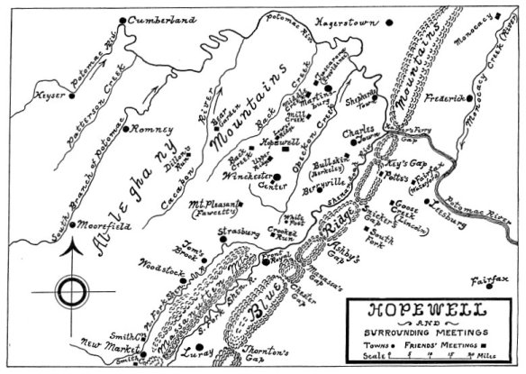 Hopewell Meeting Map