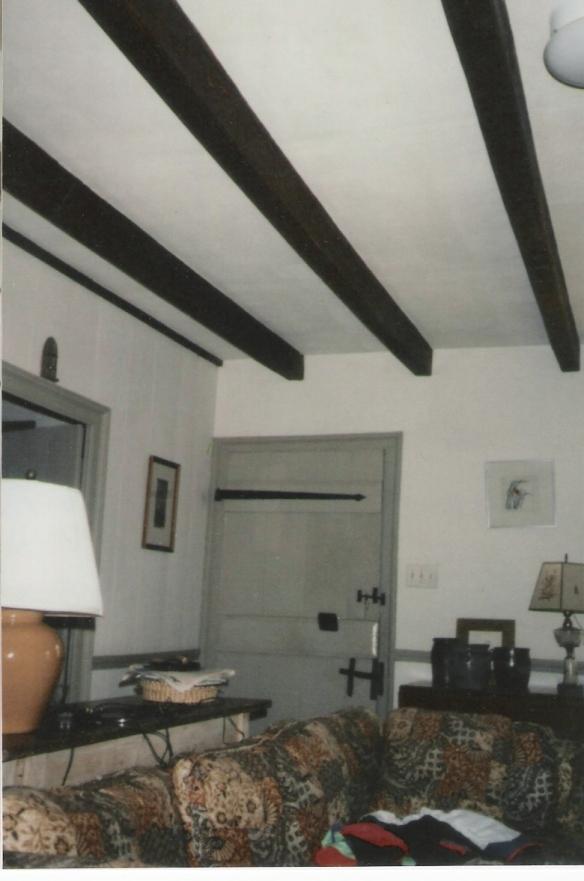 James Crumley home door