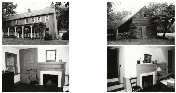 James Crumley home interior