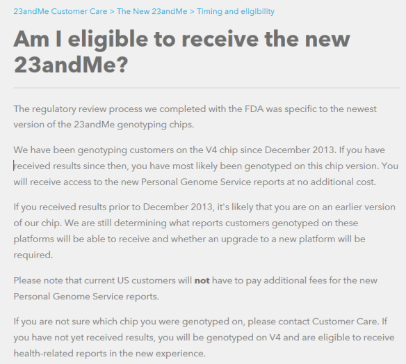 FDA 23andMe New Reports