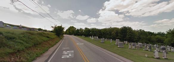 Bair's mennonite cemetery