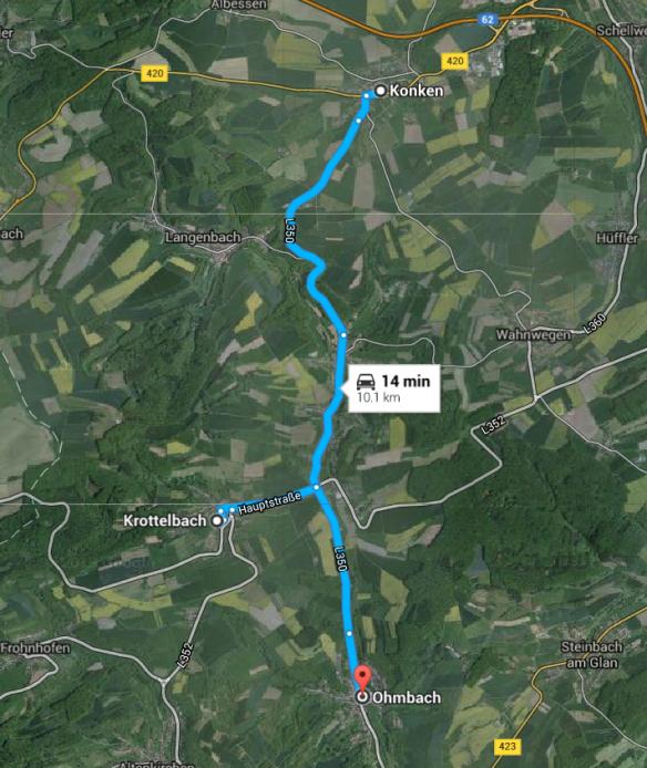 Konken Krottelbach map