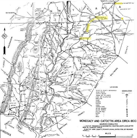 Monocacy map 3