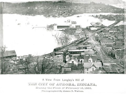 1883 Aurora Flood