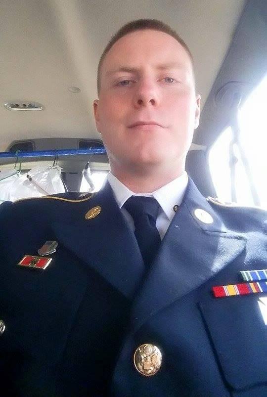 Bert Sadowski in uniform