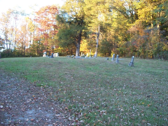 Lutheran lost church cemetery