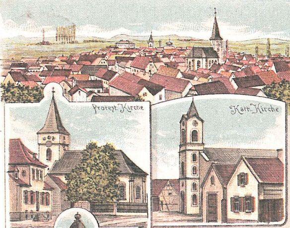 Mutterstadt postcard