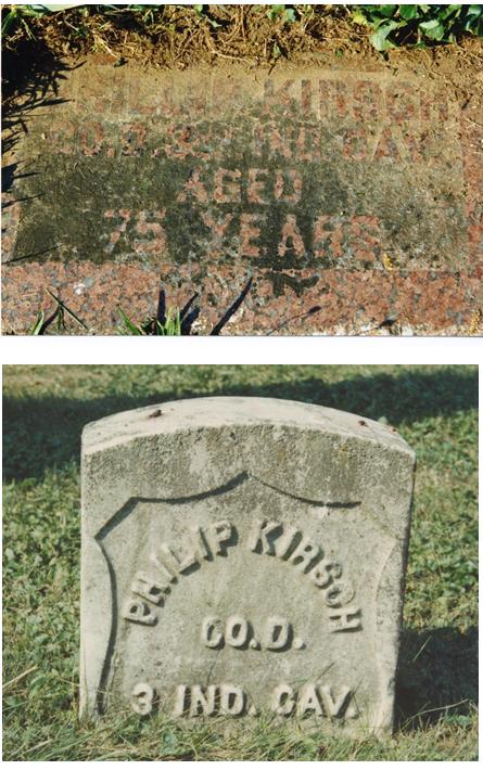 Philip Kirsch d 1905 stone