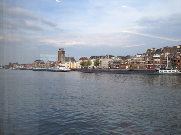 Rotterdam from Rhine