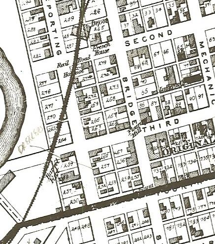 Drechsel house on Aurora map