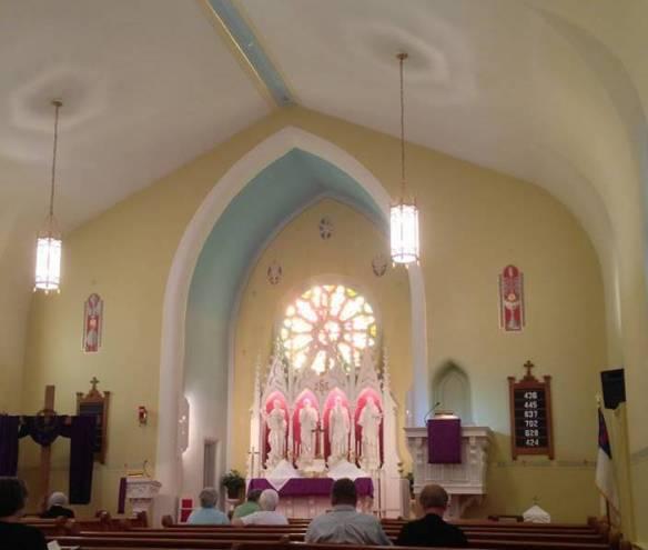 St. John inside