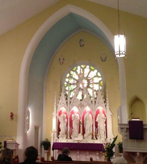 St. John's Aurora interior c