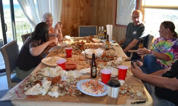 crab pickin