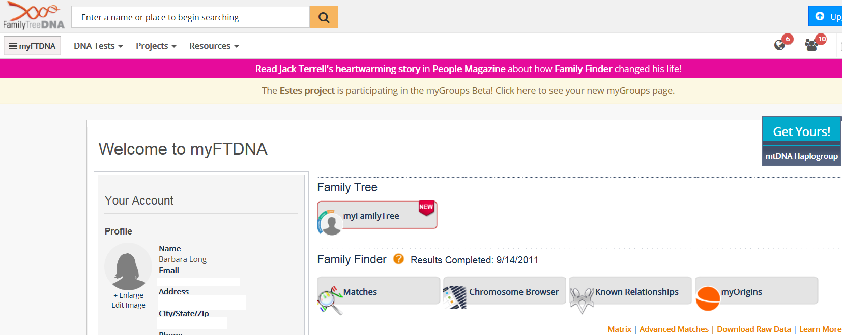 concepts downloading autosomal data from family tree dna