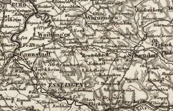 Lentz 1800s map