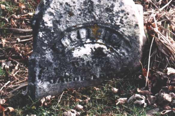 Lentz, Fredericka Lentz grave from Steve
