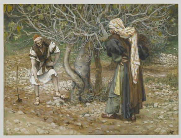 Lentz vinedresser painting