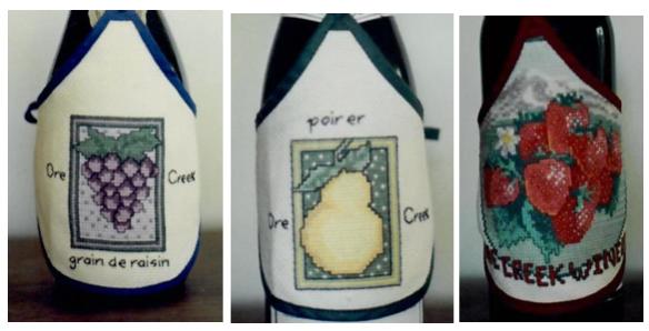 Lentz wine bottle jackets