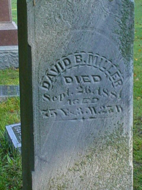 David Miller son David closeup