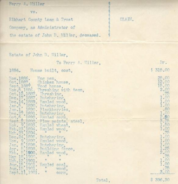 JDM Perry Miller list