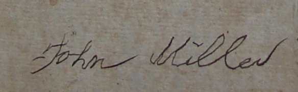 John Miller signature