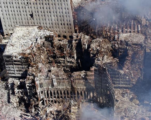 9-11-rubble