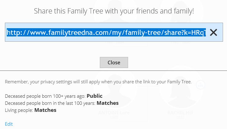 quick family tree