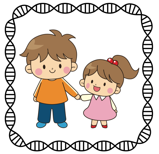 sharing siblings dnaexplained genetic genealogy genealogy clip art stock genealogical clip art