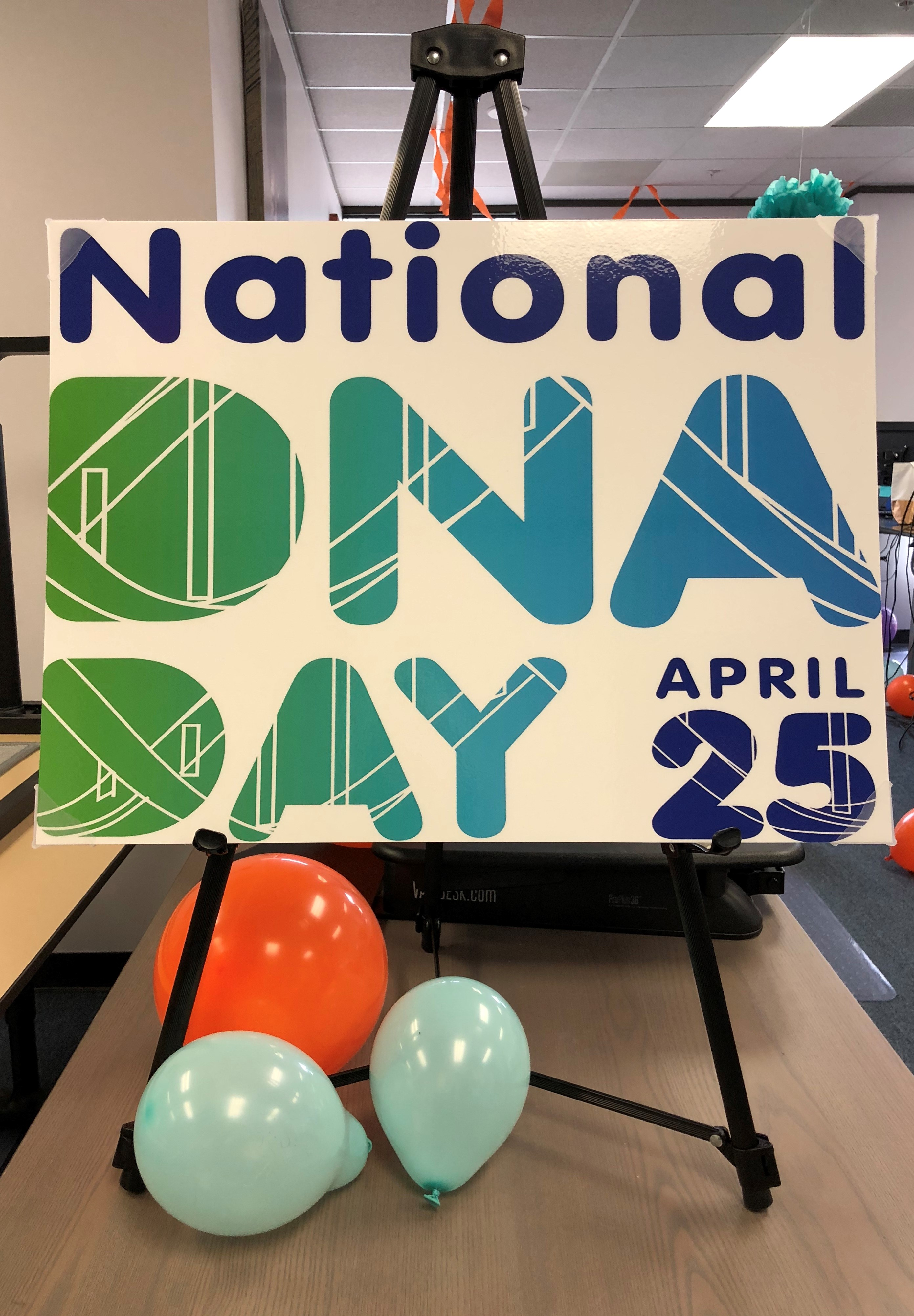 Dna day dnaexplained genetic genealogy dna day april 25th isnt a national holiday at least i dont think it is but in the genetic genealogy community dna day is anticipated with as much solutioingenieria Choice Image